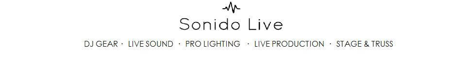 Sonido Live DJ Gear, Live Sound, Pro Lighting and Truss
