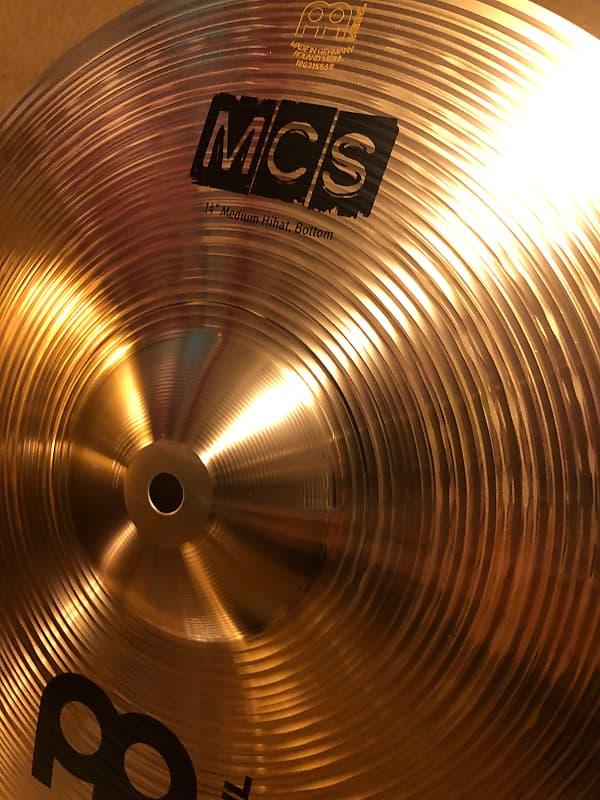 """MEINL MCS BRONZE MEDIUM HI HAT 14/""""  MCS14MH"""