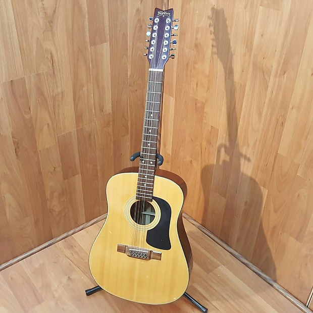washburn d12 12 string acoustic guitar reverb. Black Bedroom Furniture Sets. Home Design Ideas