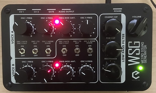 Elettrorama WSG/Weird Sound Generator - Free Shipping