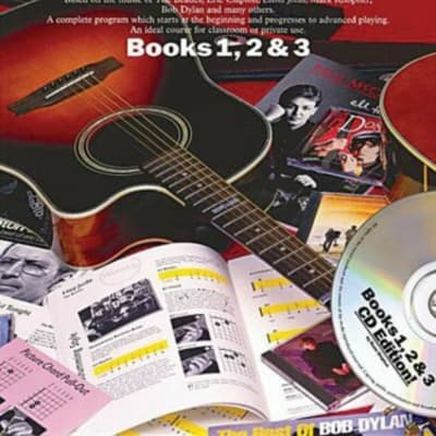 The Complete Guitar Player Books 1 2 & 3 Omnibus Edition Book and CD