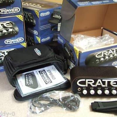 Crate Power Block 150 Watt STEREO Guitar Amp Head Amplifier Powerblock Portable CPB150 Vintage New for sale