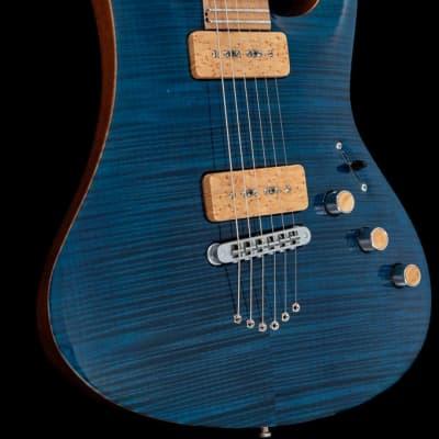 Siggi Braun  Custom Shop Piezo 2002 Custom Blue for sale