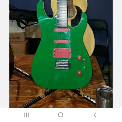 Rockster Electric Guitar 2000's Green for sale
