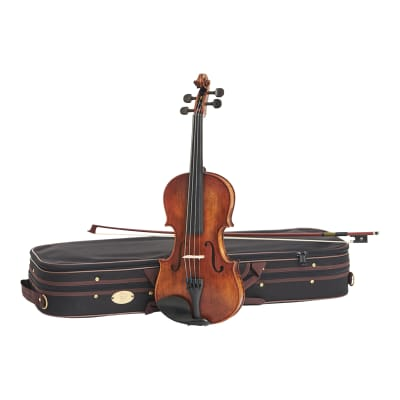 Stentor 1864A Verona Series Advanced Students Full Size 4/4 Violin Outfit w/Deluxe Case & Bow