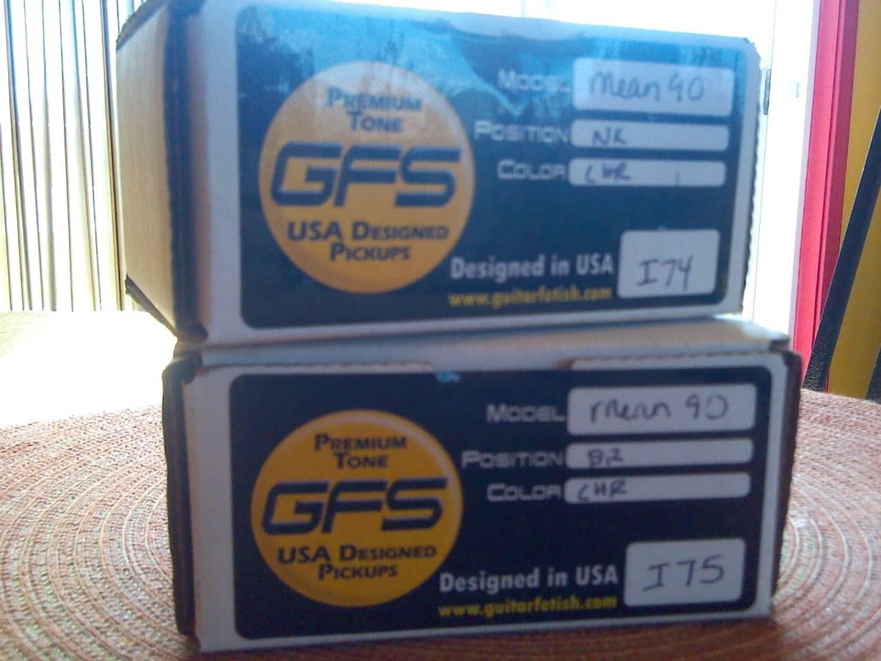 GFS Mean 90 P90 Full Set Chrome Reverb
