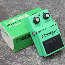 1980 Boss PH-1 Phaser Silver Screw MIJ Japan Vintage Effects Pedal w/Box
