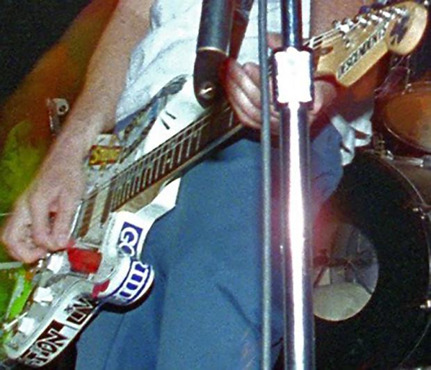 Tom Delonge Stickers Guitar Fender Stratocaster Decal