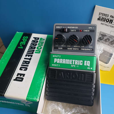 Arion SPE-1 Parametric EQ 1980's Grey/Green for sale