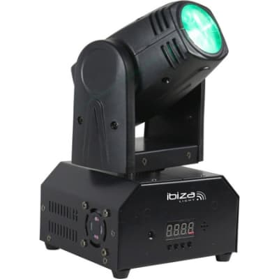 Ibiza LHM250 Mini Spot Head RGBW Led EX DEMO