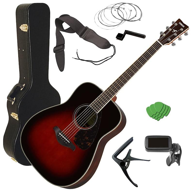 c28504e0ad Yamaha FG830 Acoustic Guitar - Tobacco Sunburst STAGE | Reverb