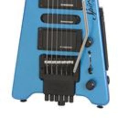 Steinberger Spirit GT Pro Deluxe Frost Blue with Gig Bag for sale