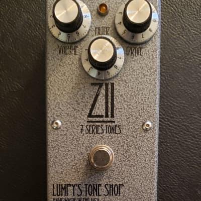 Lumpy's Tone Shop ZII Overdrive (Lemon Drop) 2013 Grey Hammertone