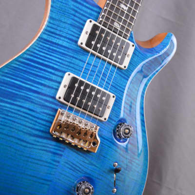 Paul Reed Smith Custom 24 2018 Aquamarine New *Free Shipping* GREAT Top!