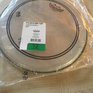 """Remo Powerstroke P3 Clear Drum Head 12"""""""