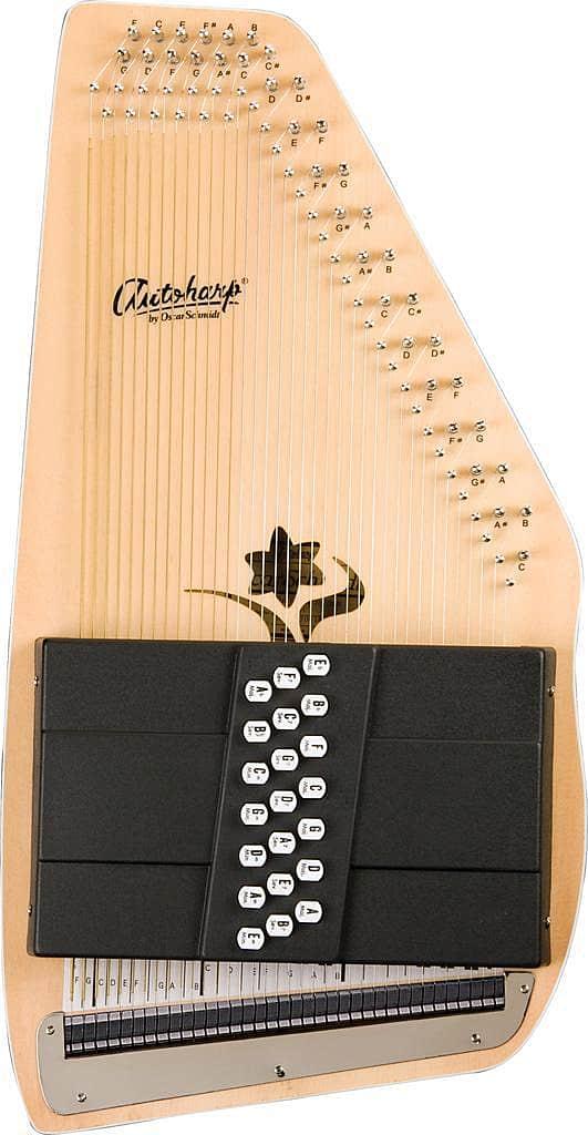 Tune Up Shops >> Oscar Schmidt OS45C - 21 Chord Autoharp, Auto Harp, | Reverb