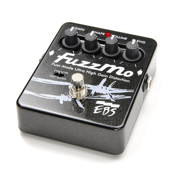 new ebs fuzzmo bass guitar fuzz tone effects pedal reverb. Black Bedroom Furniture Sets. Home Design Ideas