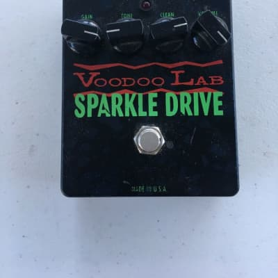 Voodoo Lab Sparkle Drive Overdrive Clean Booster Guitar Effect Pedal Made In USA