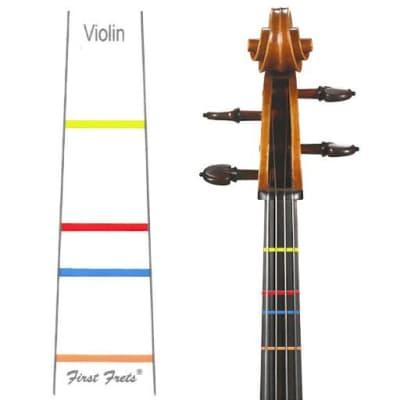 First Fret Fingerboard Decal 3/4 Violin / 13'' Viola