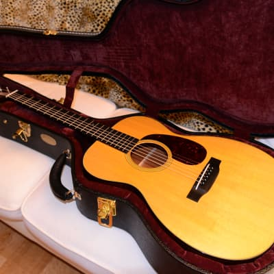 2015 Martin 00-18V Natural USA with Geib 534 Case...super clean and smells new! for sale