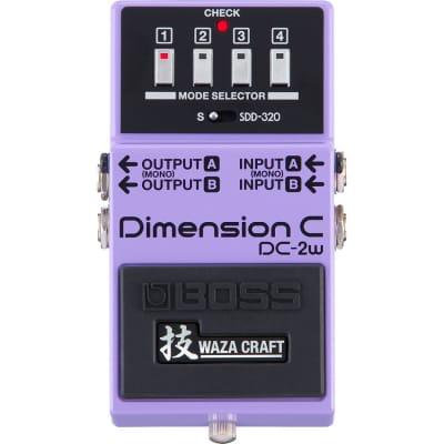 Boss DC-2W Dimension C Chorus Waza Craft for sale
