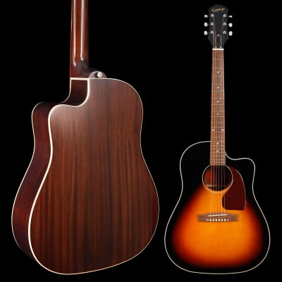 Epiphone Inspired By Gibson J-45 EC, Aged Vintage Sunburst Gloss 283 5lbs 0.6oz for sale