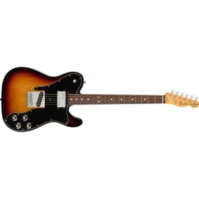 Fender American Original '70s Telecaster Custom Rosewood Fingerboard, 3-Colour Sunburst for sale