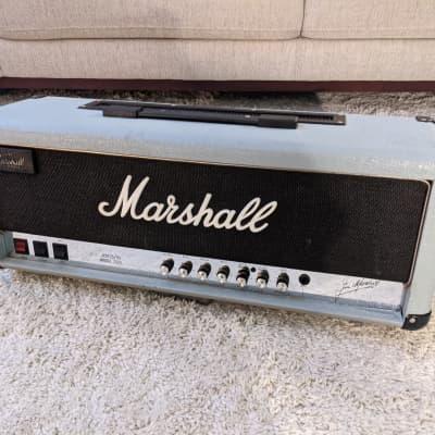 """Marshall JCM25/50 """"Silver Jubilee"""" Model 2555 2-Channel 100-Watt Guitar Amp Head 1987 - 1988"""