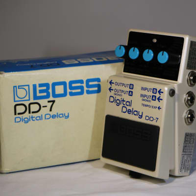 Boss DD-7 Digital Delay with Box