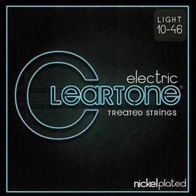 Cleartone 9410 Electric Guitar Strings, Nickel Plated, Light Gauge, 10-46