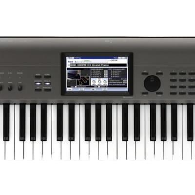 Korg Krome EX 73 Velocity Sensitive Semi Weighted Key Music Workstation