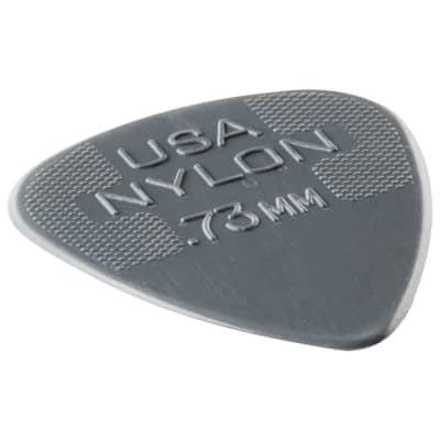 Dunlop Nylon Standard Picks (Set of 12) - .73