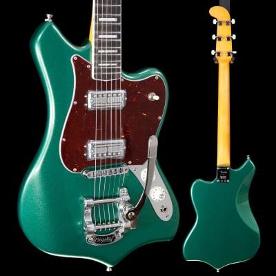 Fender P Universe Maverick Dorado Ebony Fb, Mystic Pine Green 903 8lbs 6.6oz for sale
