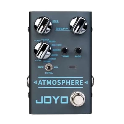 JOYO R Series R-14 ATMOSPHERE 9 Mode Multi Reverb Guitar Effect Pedal New Release for sale