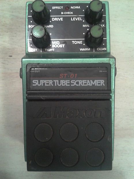 Maxon ST-01 Super Tube Screamer 1984 MIJ | GUITARS AND SOUNDS
