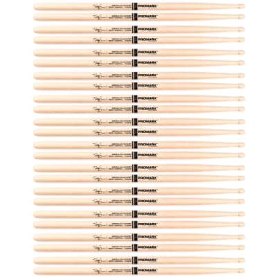 12 Pairs ProMark SD9 Teddy Campbell Hickory Wood Tip Drum Sticks