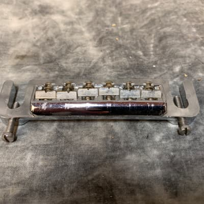 Leo Quan Badass Guitar Bridge Chrome for sale