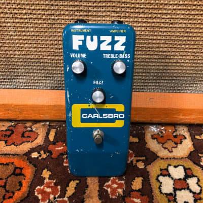 Vintage 1970s 1975 Carlsbro Fuzz MKIV Tonebender Sola Sound Guitar Effects Pedal for sale