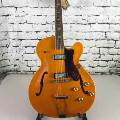 Epiphone John Lee Hooker 100th Anniversary Zephyr Electric Guitar – Antique Natural for sale