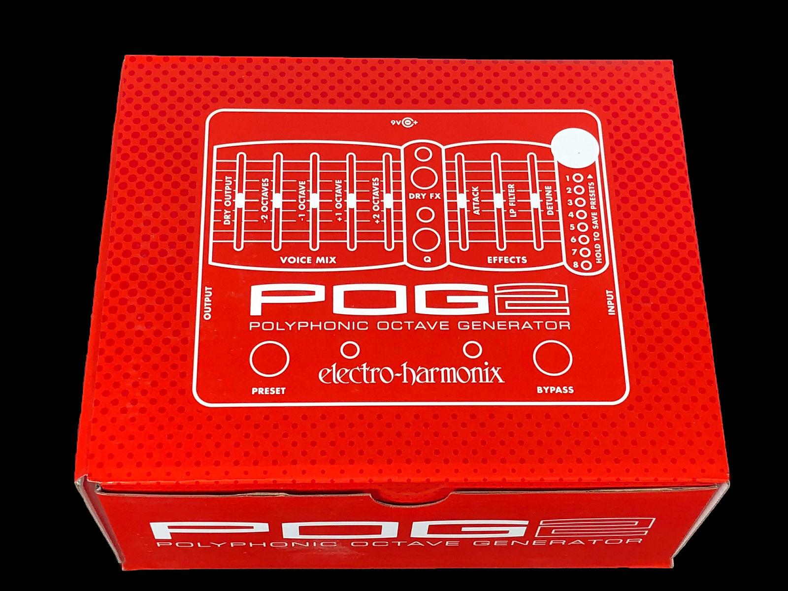 2018 electro harmonix pog2 polyphonic octave generator brand new
