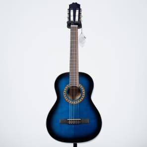 Beaver Creek BCTC601BB 3/4 Size Classical Acoustic Guitar BCTC 601 BB (Blueburst) for sale