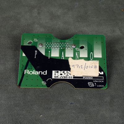 Roland SR-JV80 Expansion Board - 03 Piano - 2nd Hand