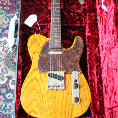 Fender Custom Shop Master Built By Ron Thorn 60's Hand-Tooled Telecaster - Natural. for sale