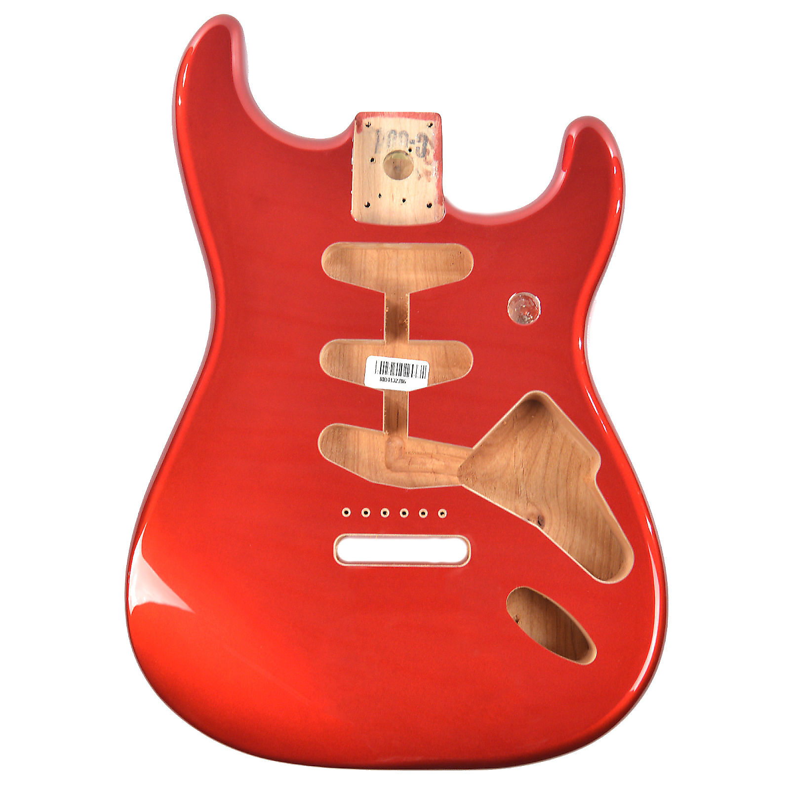BLACK Fender Mexico Stratocaster//Strat SSS Vintage Bridge Mount Alder Body