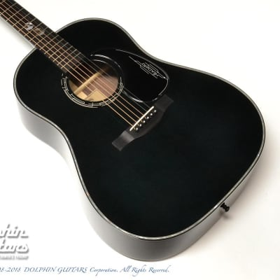 Headway <MIJ> HJ-JET BLACK DX ( Adirondack Spruce & Indian Rosewood) for sale