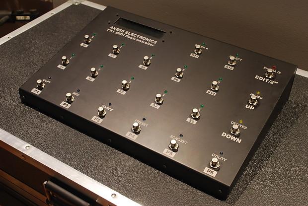 Axess Electronics FX1 Midi Pedalboard / Foot Controller