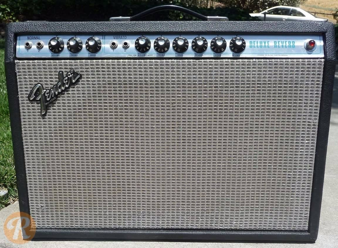 fender deluxe reverb 1969 39 70s silverface price guide reverb. Black Bedroom Furniture Sets. Home Design Ideas