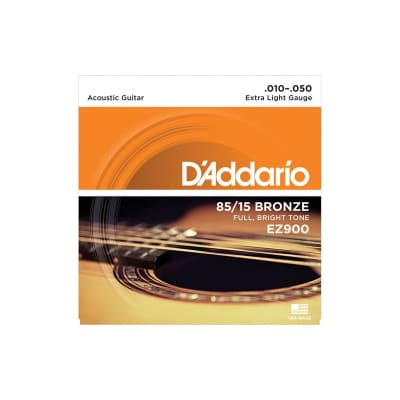 D´Addario EZ-900 Bronze Acoustic Strings 10-50