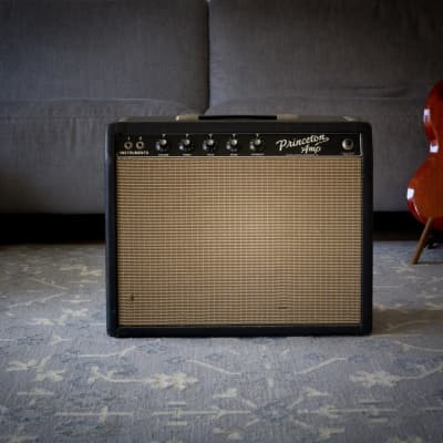 Fender Princeton Amp 1964 blackface (VIDEO recorded with the actual Amp) for sale