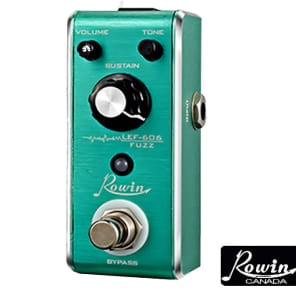 ROWIN LEF-606 FUZZ Micro Effect Pedal FREE SHIPPING